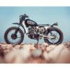 moto custom femme