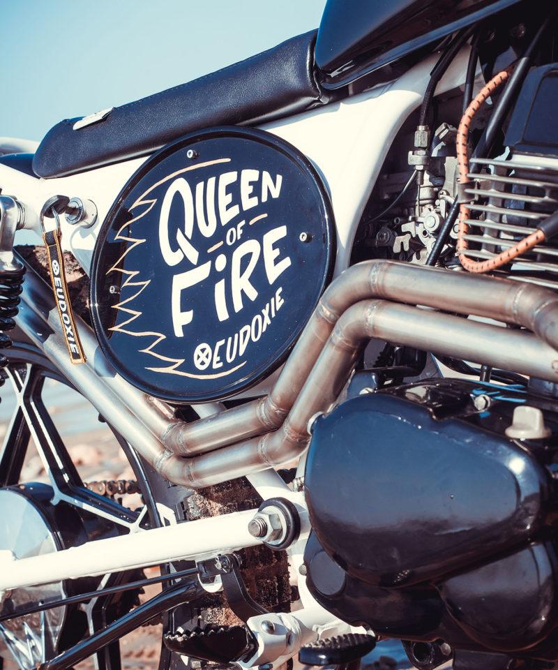 moto custom gaby