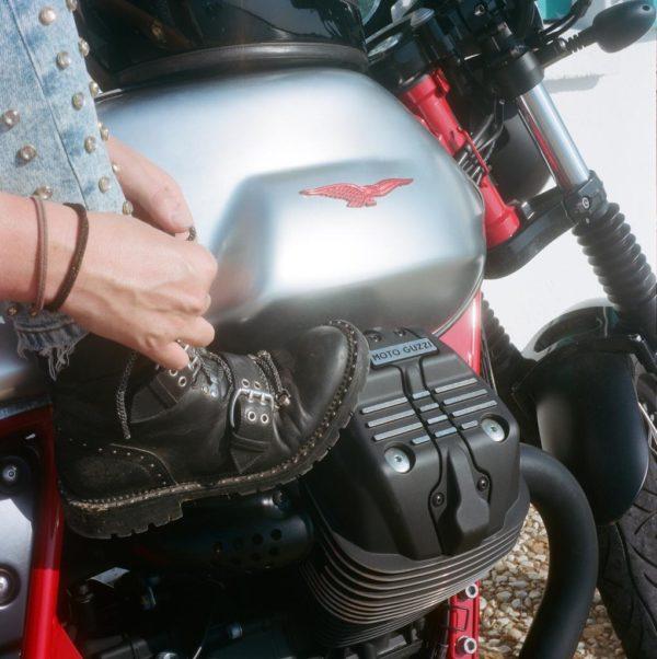 Guzzi V7 III Racer motor